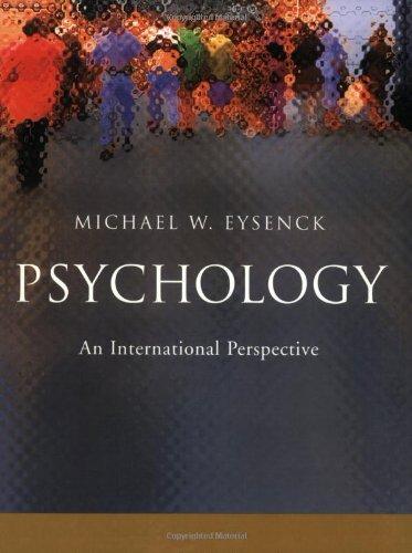 Psychology: An International Perspective