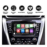 2015-2018 Nissan Murano NissanConnect Car Navigation Screen Protector Center Touch Screen Protector Anti Scratch High Clarity Clear HD Tempered Glass Screen Protector (8-Inch)