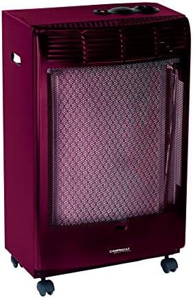 Campingaz CR 5000 - Estufa de Gas Thermo Burdeos, Estufa Portátil con Ruedas, Estufa Catalitica con Ignición Piezoeléctrica