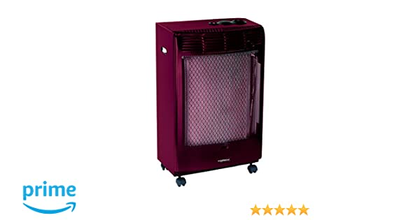 Campingaz Cr5000 Thermo Burdeos Estufa de Gas termostatica, Acero, 45x35x78 cm: Amazon.es: Jardín