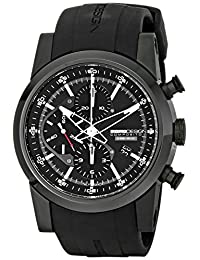Momo Design Men's MD280BK-01BKBK Composito Analog Display Swiss Automatic Black Watch