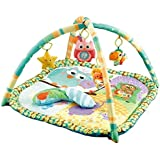 Little Archer & Co. Baby Floor Activity Play Gym, Great for Learning and Play During Awake Time
