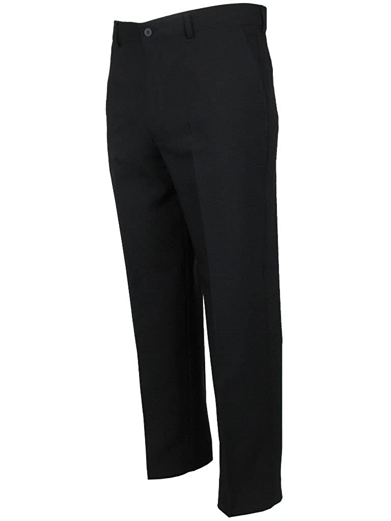 TALLA Cintura 81cm x Longitud De Las Piernas 69cm. Farah Hombre Sesgado Bolsillo Formal Clásico Pantalón