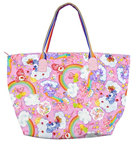 [Iron Fist Care Bears Oversize Tote Bag - Pink] (Iron Fist Costumes For Kids)