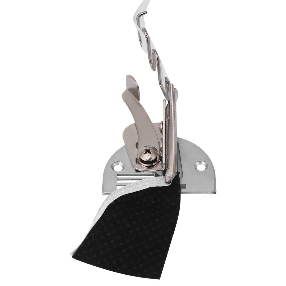2,2 cm//2,6 cm//3,0 cm//3,6 cm//4,0 cm 1PC m/áquina de coser industrial ajustable doble /ángulo plegable carpeta encuadernaci/ón carpeta