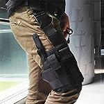 Winwinfly Ajustable Tactique puttee Cuisse Jambe Shoulder Pistolet Holster Sac de Chasse en Plein air Accessoires 10