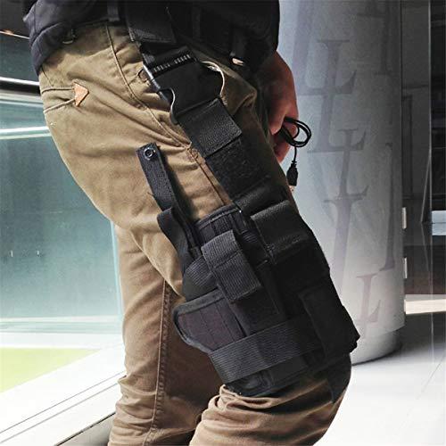 Winwinfly Ajustable Tactique puttee Cuisse Jambe Shoulder Pistolet Holster Sac de Chasse en Plein air Accessoires 5