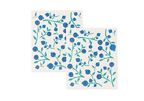 Superieur ... Kitchen Decor, Size Mat Option · Now Designs Swedish Dishcloth, Set Of  Two, Blueberries
