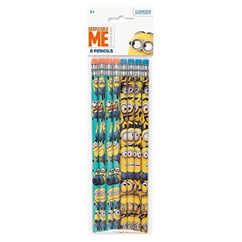 Despicable Me Minions Pencils, 8ct (Minions Party Ideas)
