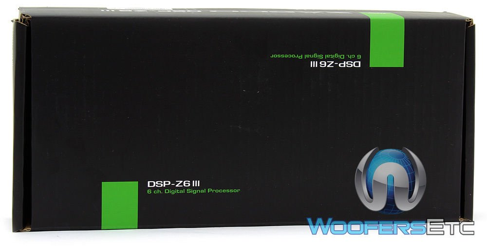 Zapco DSP-Z6 III 4 In/6 Out Full function DSP - OEM Processor - No Networking Capabilities by Zapco (Image #5)