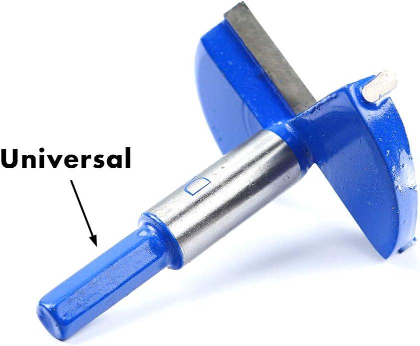 Azul 1-1//2 Inch 38mm Brocas Forstner,Carpinter/ía Agujero Sierra Cortador,Profesional Aleaci/ón de Acero Madera Broca para Taladro Aburrido Corte Herramienta