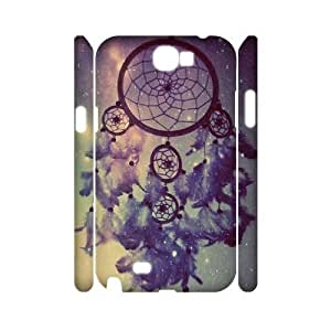 Dreamcatcher 3D Hard Back Durable Case for Samsung Galaxy Note2 N7100,diy Dreamcatcher 3d case WANGJING JINDA