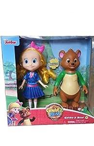 Amazon Com Disney Junior Goldie And Bear New Poseable