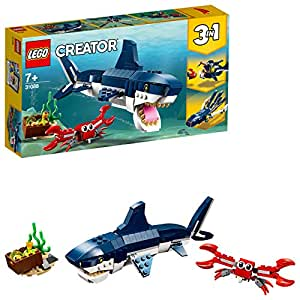 LEGO Creator 3in1 Deep Sea Creatures 31088 Creative Building Toy
