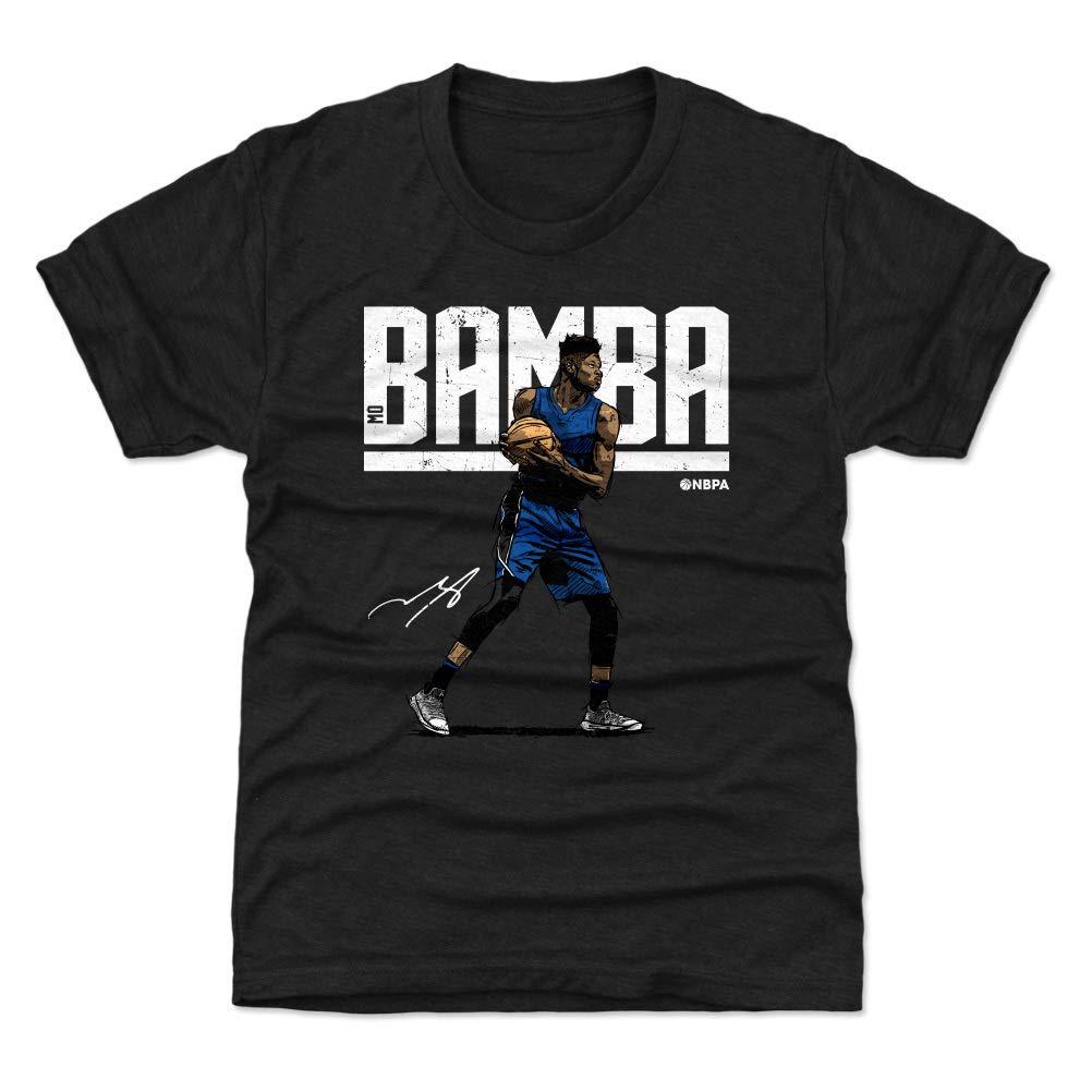 500 LEVEL Mo Bamba Orlando バスケットボール キッズシャツ - Mo Bamba Hyper Kids Large (10-12Y) Tri Black B07JQ5JPMR