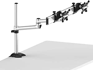 Cotytech Dual Monitor Desk Mount for Apple Quick Release with Dual Arm (BL-AP27)