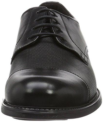 Lloyd Tango, Zapatos de Cordones Derby para Hombre Schwarz (Schwarz)