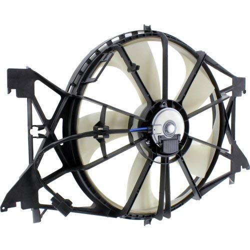 Cooling Fan Assembly Compatible for RAM FULL SIZE P//U 2009-2018 Single Fan Module 4.7//5.7//6.4L Engine All Cab Types