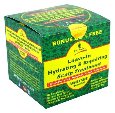 Deity Leave-In Hydrating & Repair Scalp Treatment 470 ml Jar