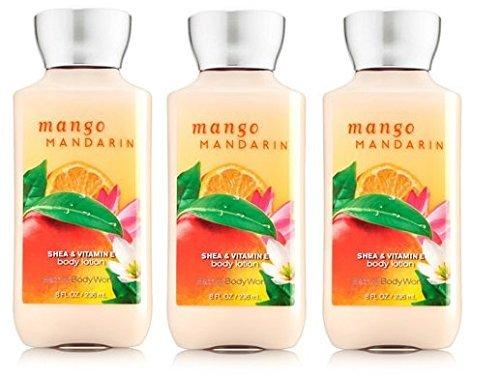 Mango Fragrance Mandarin - Bath & Body Works Mango Mandarin Body Lotion Set of Three 8oz Each