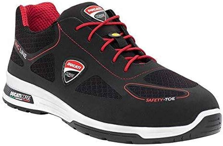 FTD Zapato de Seguridad Ducati Racing SEPANG S3 SRC ESD, Seguridad Zapatilla de Alcance 12 Color Negro Talla 43: Amazon.es: Zapatos y complementos