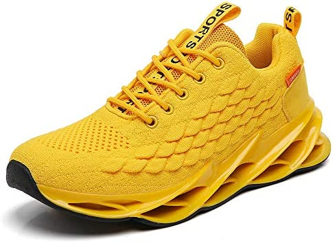 TSIODFO Men air Cushion mesh Breathable Sport Running Tennis Walking Shoes