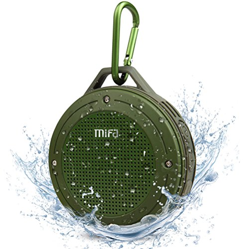 Price comparison product image MIFA F10 Portable Bluetooth Speaker,  IP56 Dust-Proof and Waterproof Outdoor Wireless Speaker Premium DSP 3D Stereo Sound with Rechargeable Battery