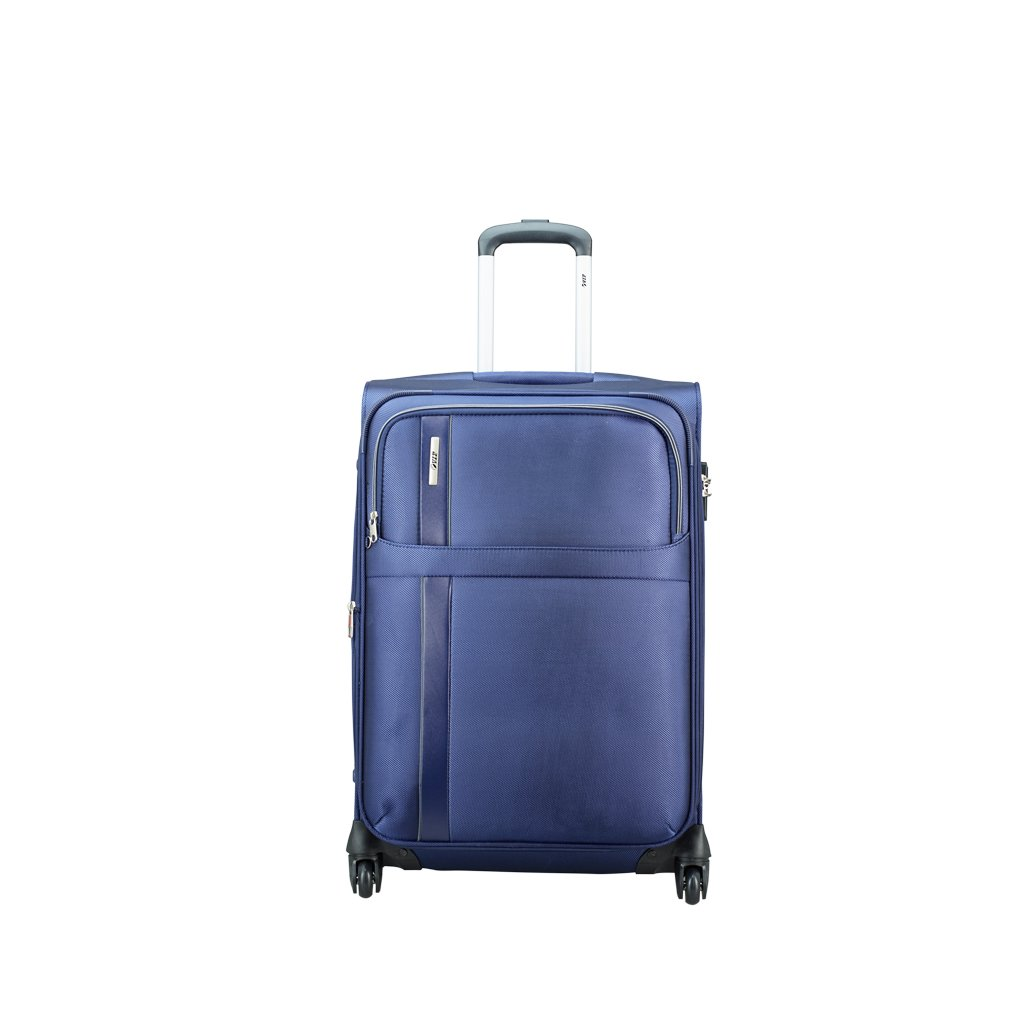 [Apply Coupon] VIP Tryst Polyester 68 cms Ink Blue Softsided Check-in Luggage (STTRYW65IBL)