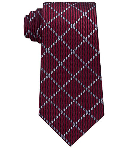 Sean John Mens Texture Windowpane Necktie 600 One Size