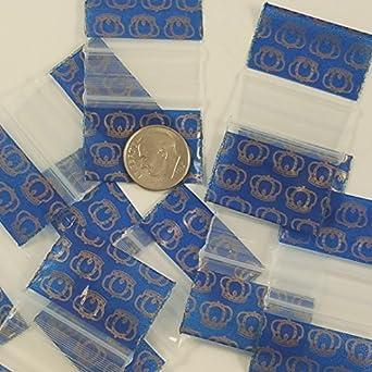 Amazon.com: Pequeño Mini Bolsas de Ziplock 100 12534 de ...