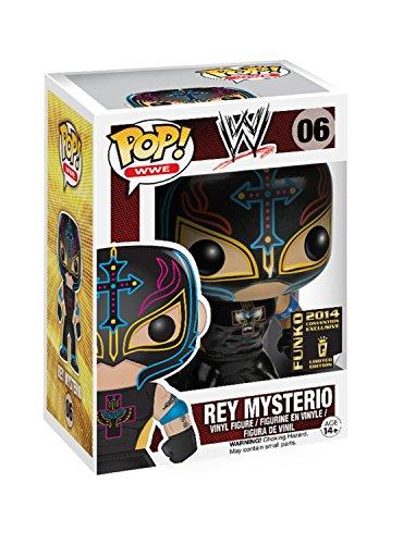 2014 SDCC Exclusive FunKo POP WWE Rey Mysterio Classic (Black) by FunKo