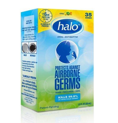 Halo Oral Antiseptic Citrus, Citrus 1 oz