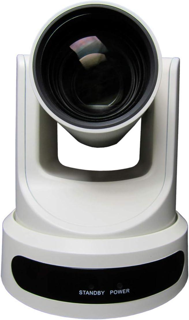 PTZOptics Live Streaming Cameras - PTZ Cameras with SDI, HDMI and IP Control + PoE (30X-SDI, White)