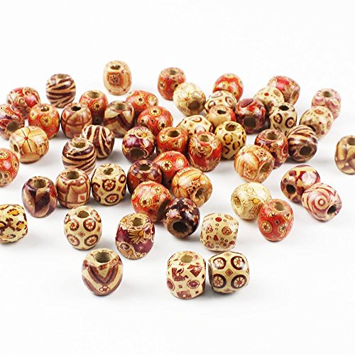 bulk wooden craft beads 100 pieces shipped for just. Black Bedroom Furniture Sets. Home Design Ideas