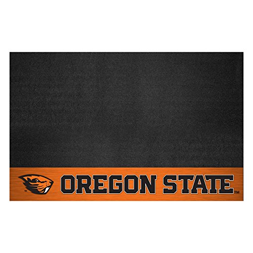 NCAA Oregon State University Grill Mat, Small, Black (Oregon Beavers University Grill State)