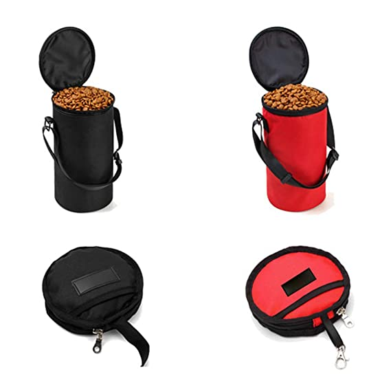 Amazon.com: CWH&WEN Pet Dog Cat Collapsible Foldable Travel ...