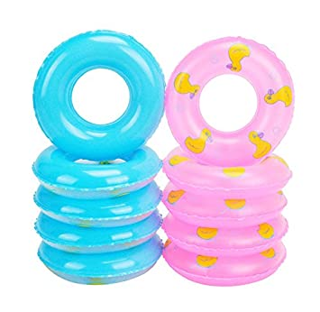 Amazon.com : E-TING Mini Swim Ring Summer Fun Swimming Pool Float ...
