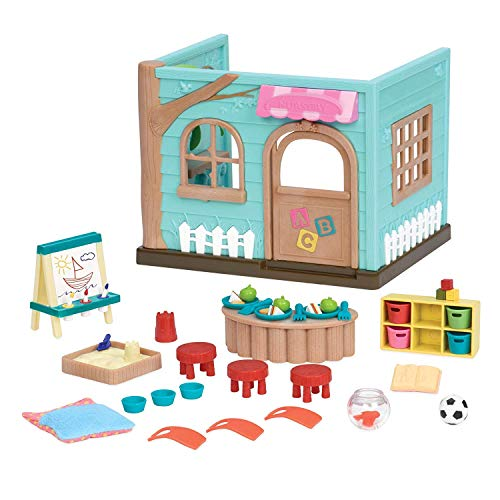 - Li'l Woodzeez Luvs & Hugs Nursery Playset