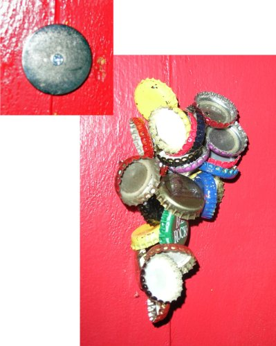 Round Magnetic Bottle Catcher Starr product image
