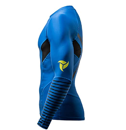 per Canoa Kayak Surf Maglia per Uomo e Donna a Compressione Rashguard Maniche Lunghe Elastica e Protettiva Mare LB9