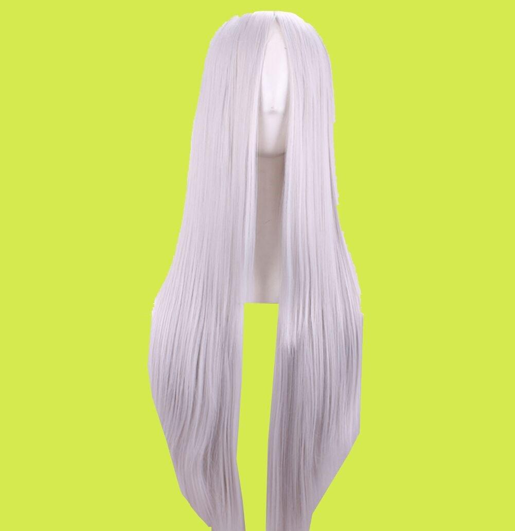 Langhaarper/ücke hitzefest glattes Haar f/ür Cosplay 75/cm lang
