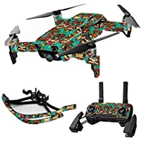 MightySkins Skin for DJI Mavic Air Drone - Crazy Tikis | Max Combo Protective, Durable, and Unique Vinyl Decal wrap cover | Easy To Apply, Remove, and Change Styles | Made in the USA