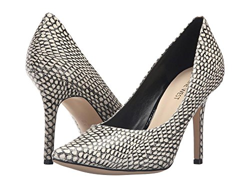 NINE WEST mujer Synthetic para Zapatos nwJACKPOT Black white rrxUCqBw4n