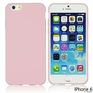 LJF phone case OnlineBestDigital - Colorful Soft Gel Case for Apple iPhone 6 (4.7 inch)Smartphone - Pink