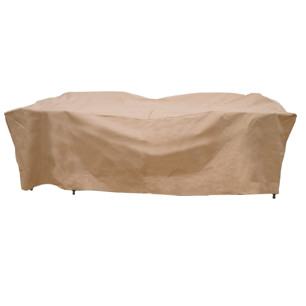 Amazon.com : Hearth U0026 Garden SF40244 Deluxe Rectangle Table And Chair Set  Cover : Patio Chair Covers : Garden U0026 Outdoor