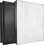 PHILIPS Air NanoProtect Annual True HEPA and Active Carbon Filter Replacement Set Purifier Series 2000 and 2000i