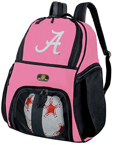 Broad Bay Girls University of Alabama Soccer Ball Backpack or Womens Volleyball Bag Ball Carrier