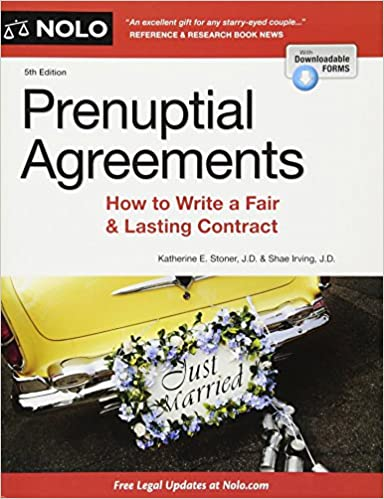 Buy Prenuptial Agreements How To Write A Fair And Lasting Contract