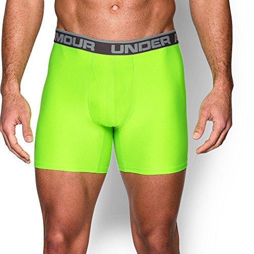 """Under Armour UA Original Series 6"""" Boxerjock – 2-Pack LG Carbon (Prestige Carbon)"""