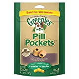 Greenies Pill Pockets Duck and Pea Formula Capsules 6.6 oz
